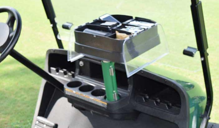 Your Personal Golf Cart Organizer - How it Works - Dash Cad on marine cup holder inserts, rv cup holder inserts, golf carts steering wheel, auto cup holder inserts,