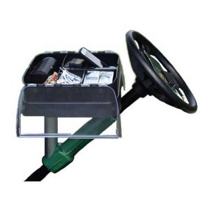 golf cart steering wheel organizer